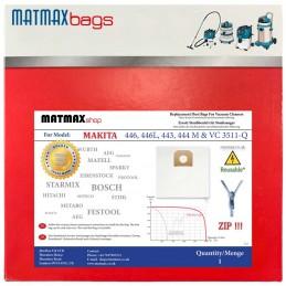 ZIP Bag for: Makita 446, 446L, 443, 444 M & VC 3511-Q