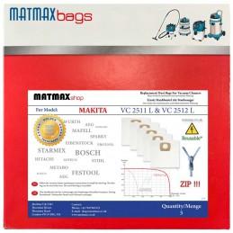 ZIP Bags For Makita: VC 2511 L & VC 2512 L
