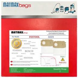 Dust Bags for: Festool CTL MIDI
