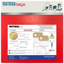 ZIP Bags For Festool CTL MIDI